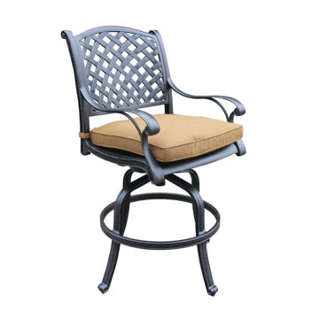 Picture of Taos 2 Outdoor Swivel Barstool