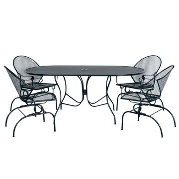Picture of Madrid 2 Oval Patio Dining Set
