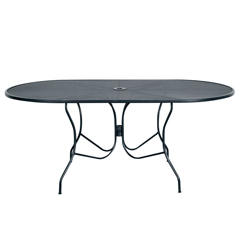 """Picture of Madrid 72"""" Oval Patio Table"""