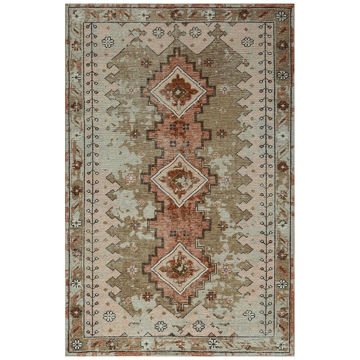 Picture of Desert Rust Antiqued Wool Area Rug