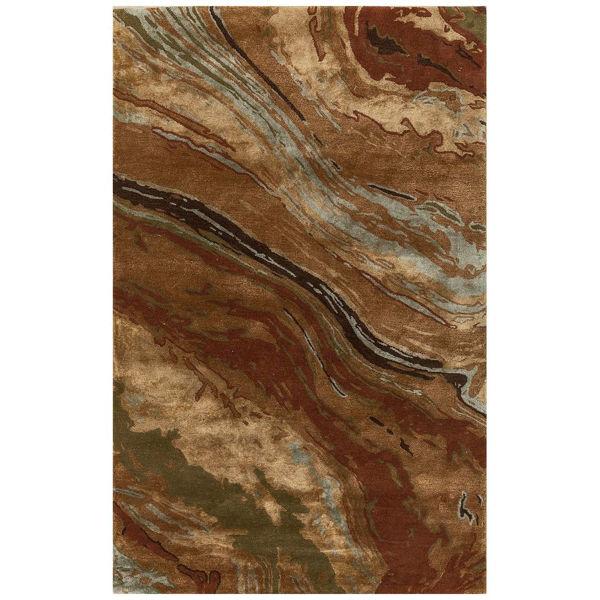 Picture of Taos Wool Viscose Modern Run