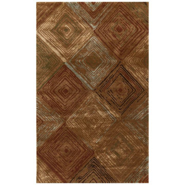 Picture of Santa Fe Wool Viscose Modern Rug - 8' x 11'