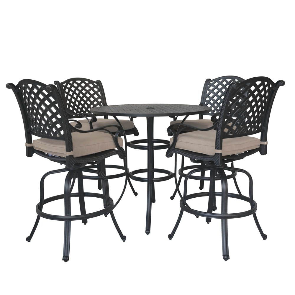 Picture of Manzano Outdoor Bar Table Set