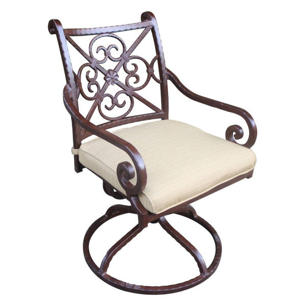 Picture of Santa Rosa 2 Outdoor Swivel Dining Chair