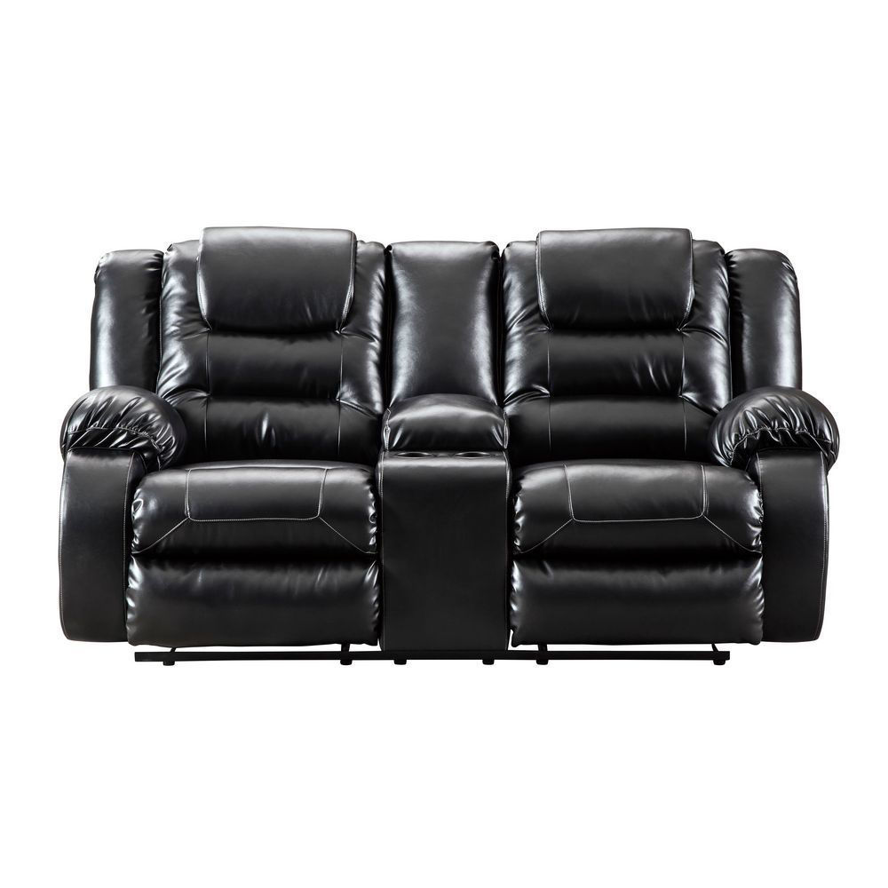 Vacherie Reclining Loveseat with Console - Front