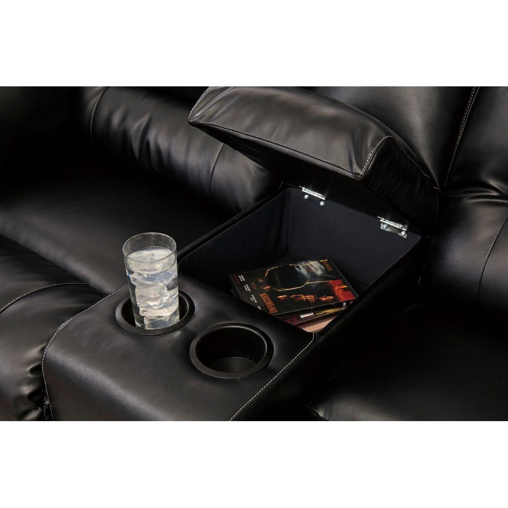Vacherie Reclining Loveseat with Console - Console