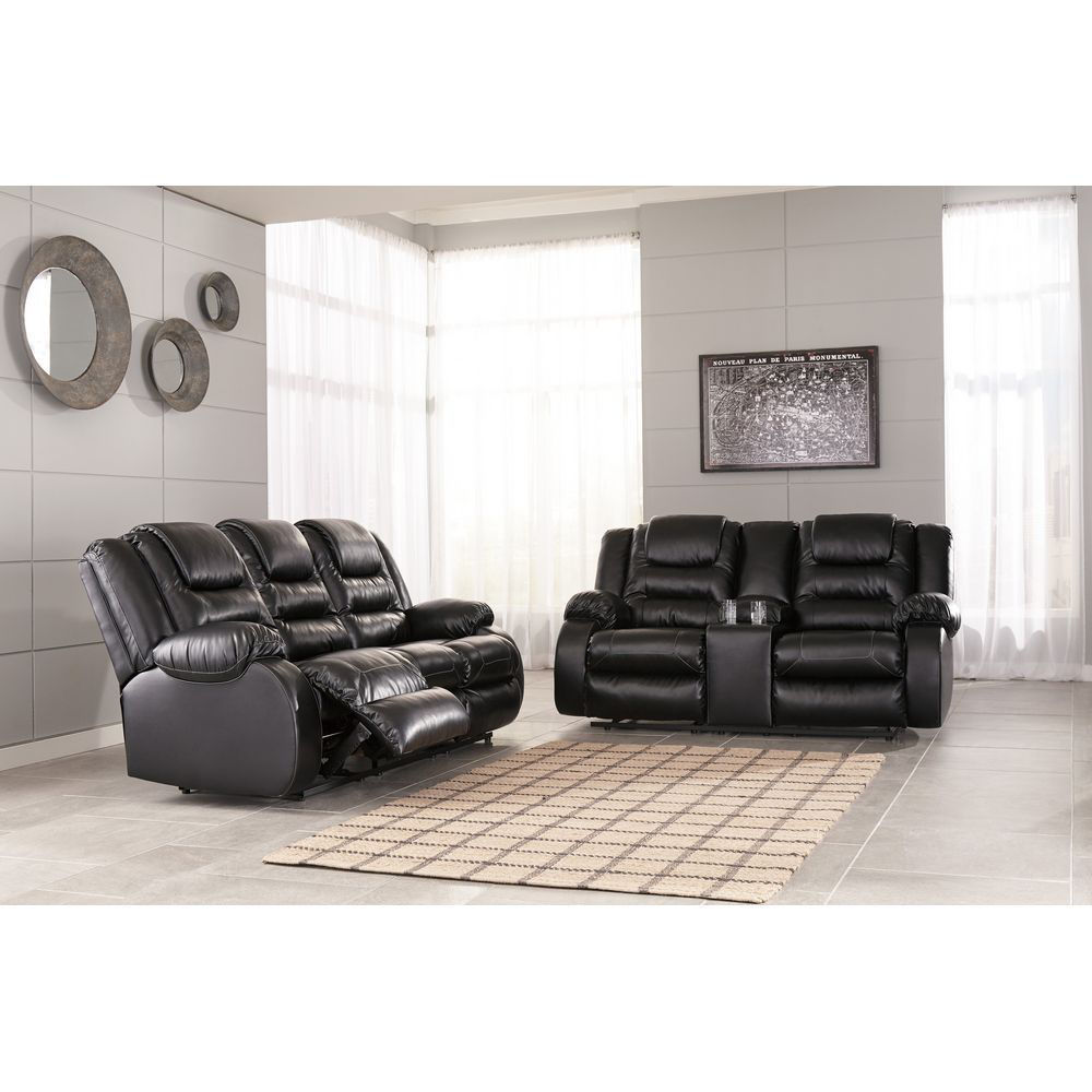 Vacherie Reclining Loveseat with Console - Room