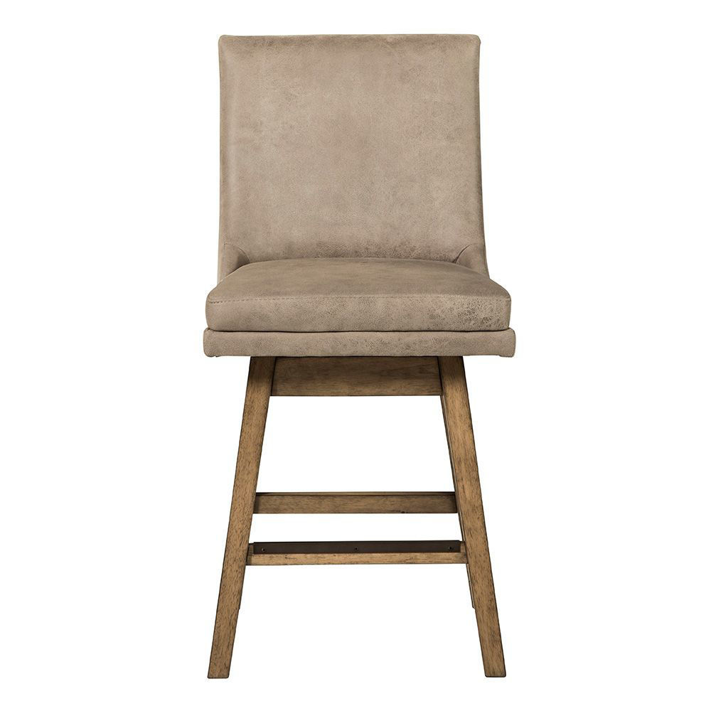 Tempe Natural Counter Stool - Front