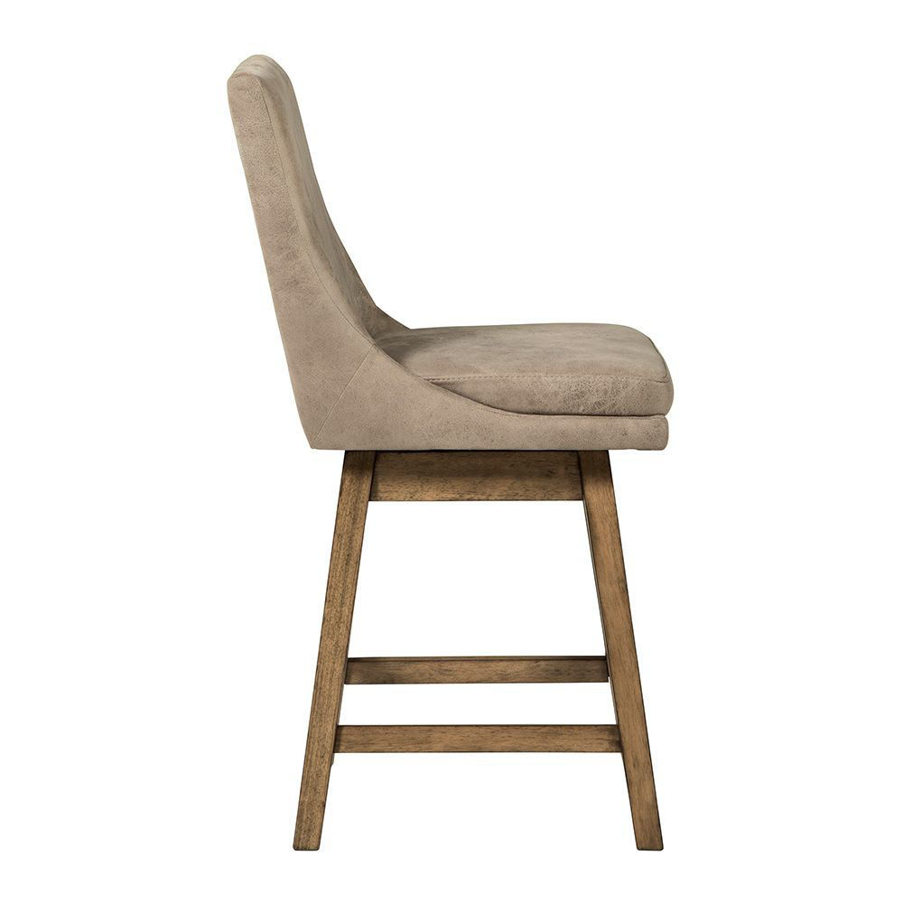 Tempe Natural Counter Stool - Side