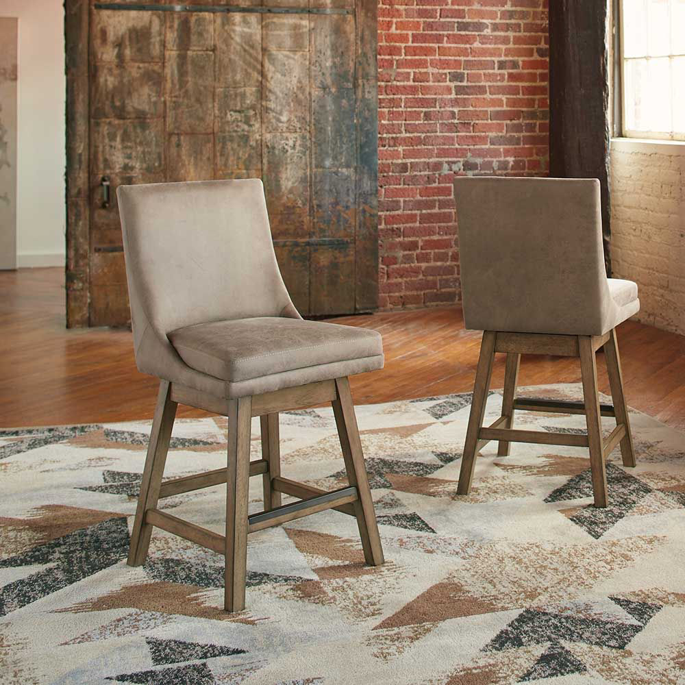 Tempe Natural Counter Stool - Lifestyle
