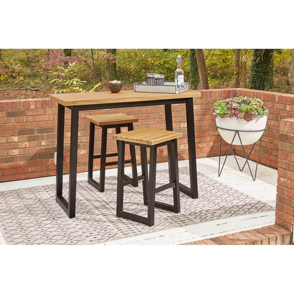 Picture of Timber Outdoor Counter Set