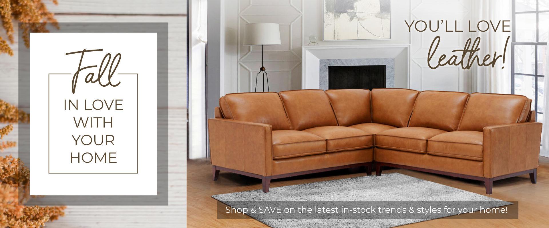 Fall In Love - Leather Furniture
