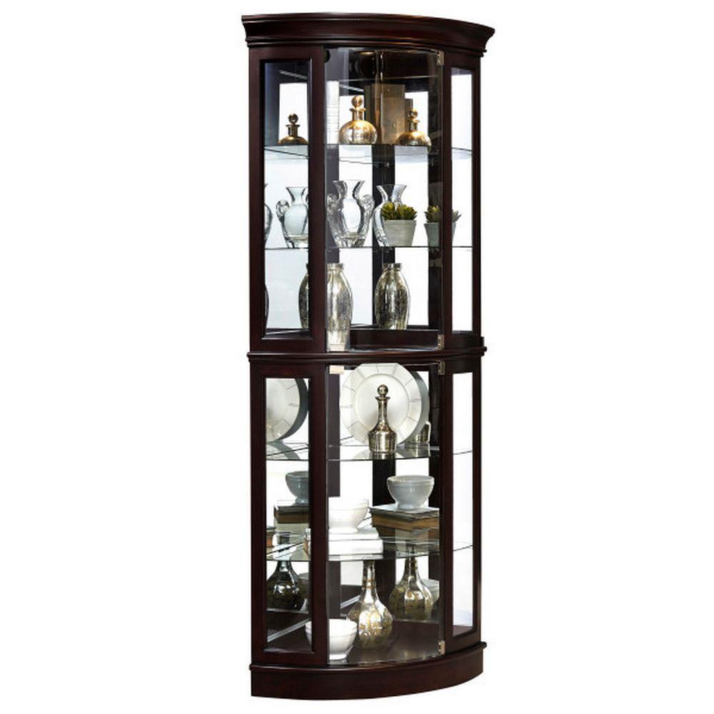 Picture of Sable Corner Curio Cabinet