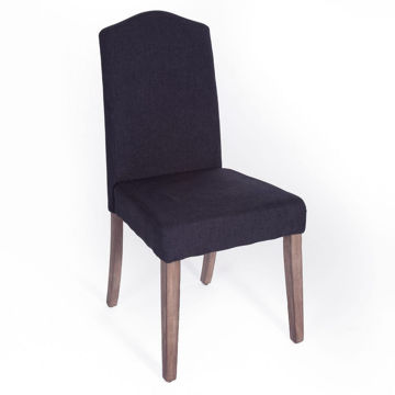Picture of Carolina Upholstered Chair - Charcoal