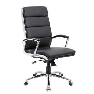 Picture of Marble Desk Chair - Black