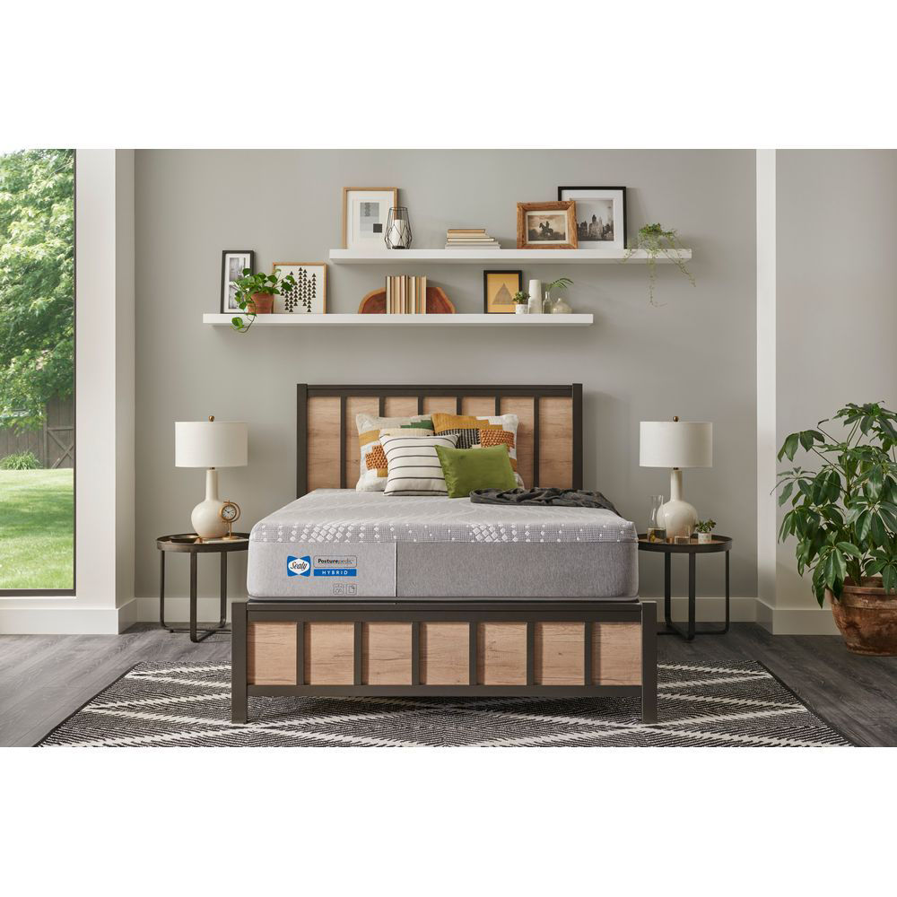 """Picture of Cala 11"""" Hybrid Firm Mattress by Sealy"""