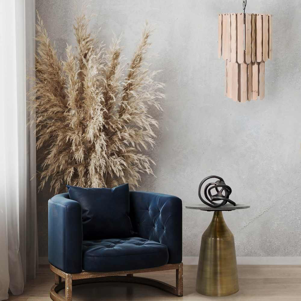 """Picture of Aisling 65"""" Chandelier - Natural"""