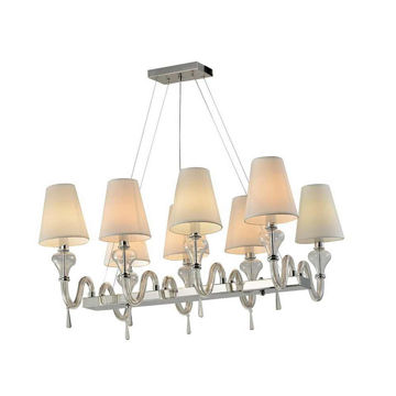 Picture of Chadni 8-Crystal Chandelier - Silver
