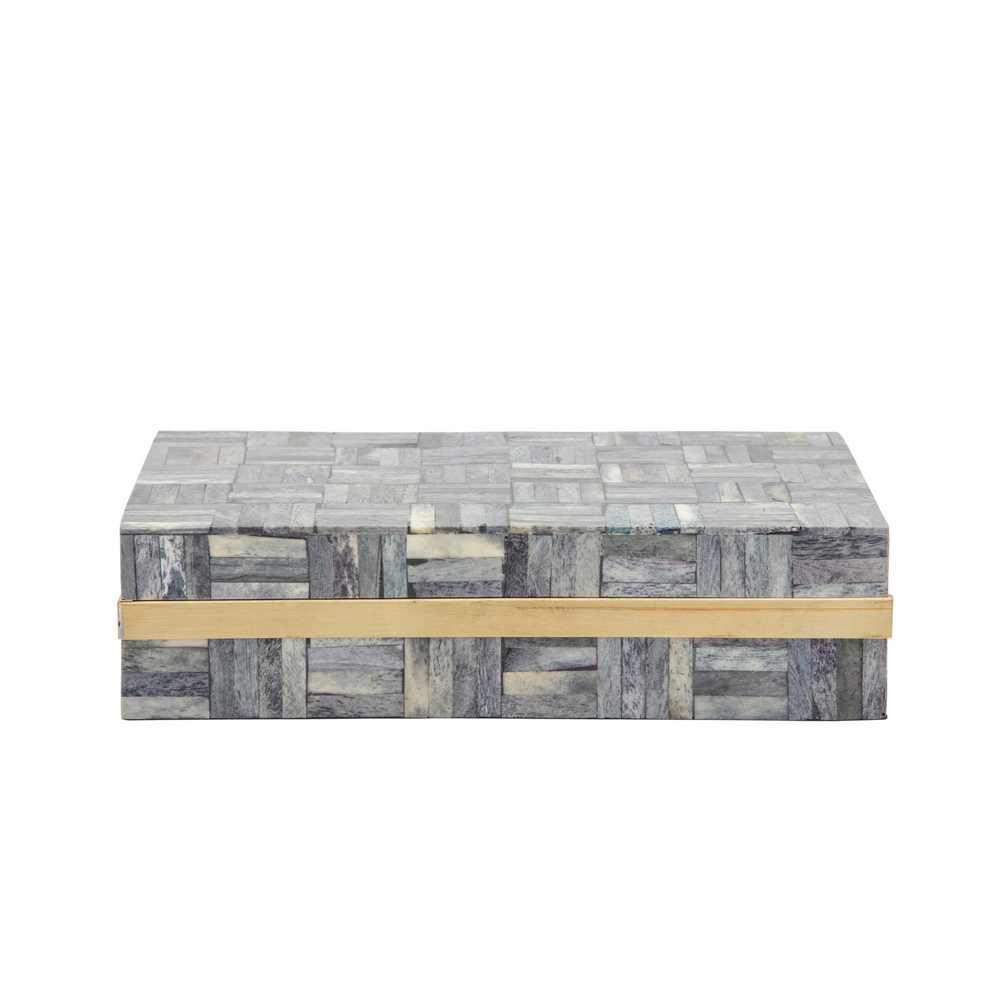 Picture of Stellano 2 -Piece Rectanglur Box - Gray