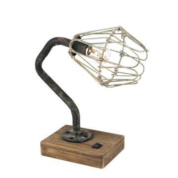 Picture of Bo Industrial Metal Table Lamp