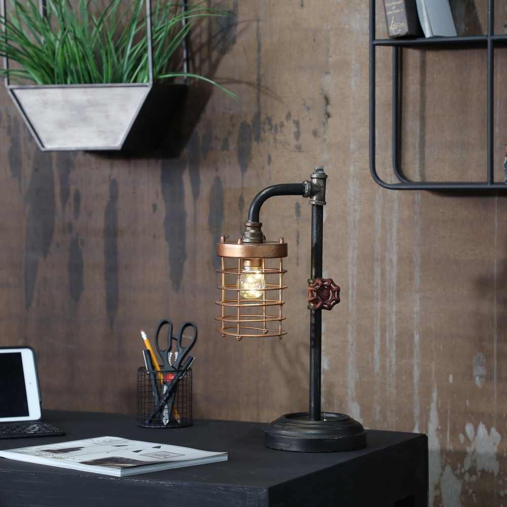 Picture of Bo Metal Pipe Table Lamp