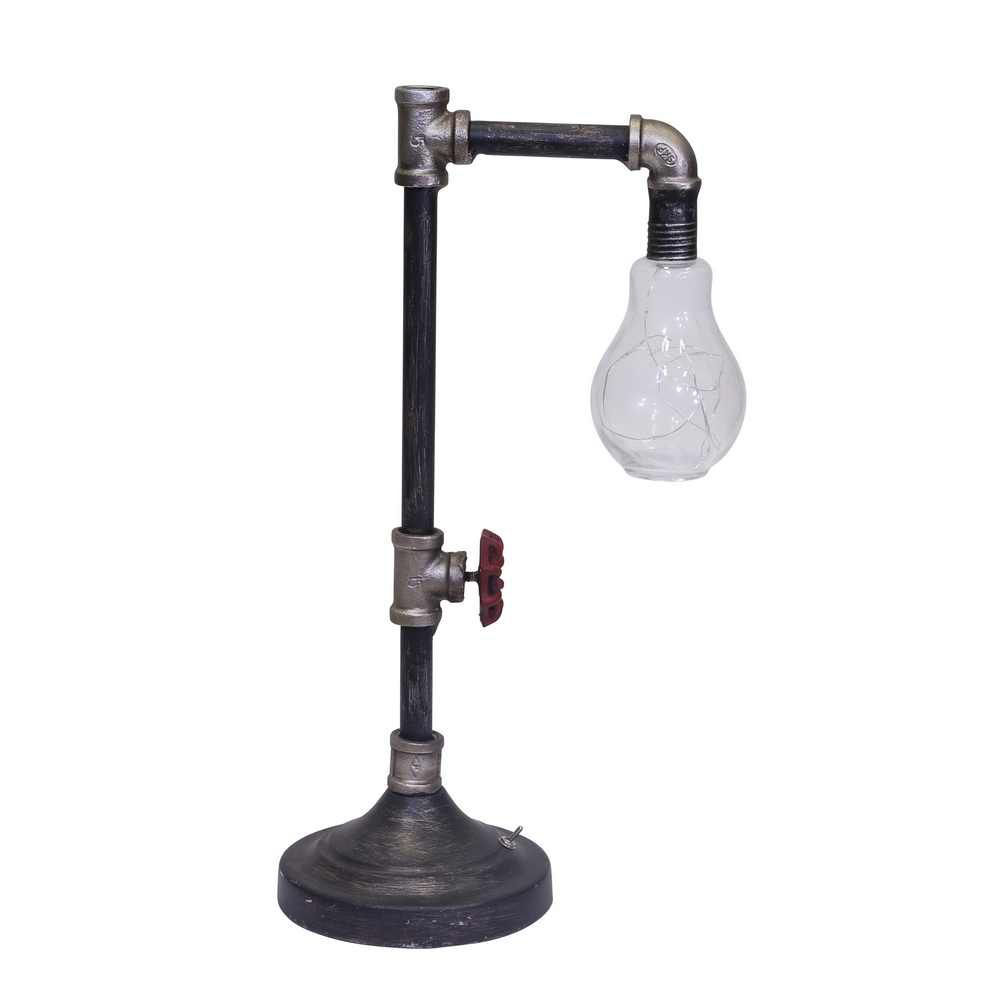 Picture of Bo Metal Pipe Table Lamp with Stringed LED