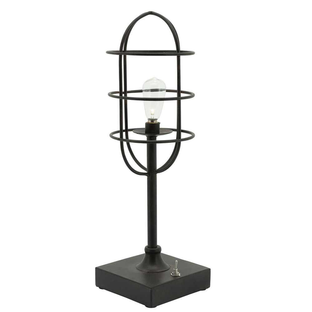 Picture of Industrial Metal Table LED Lamp - Black