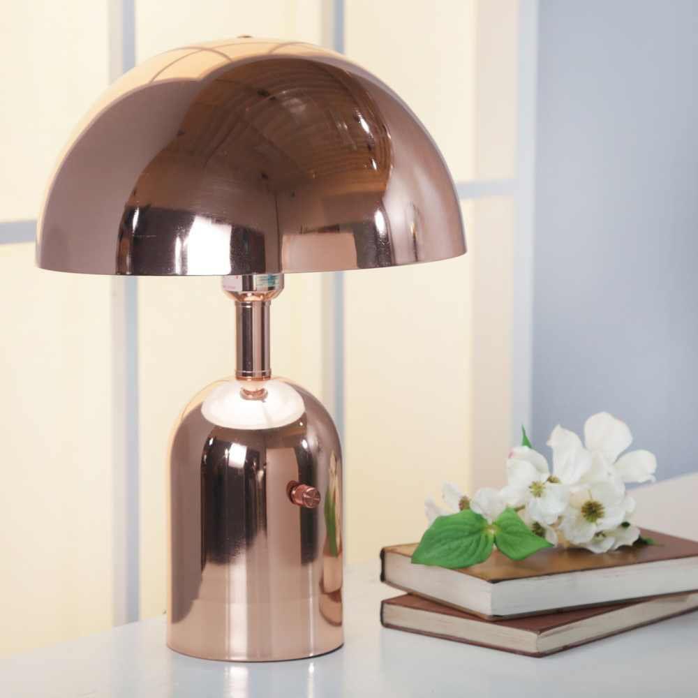 "Picture of Metal 16.25"" Task Lamp - Rosegold"