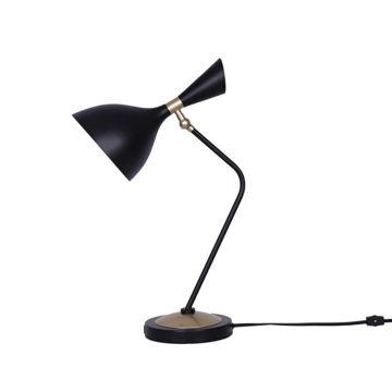 "Picture of Metal 17"" Desk Lamp - Black"