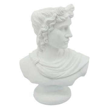 """Picture of David Bust 20"""" Resin Planter - White"""