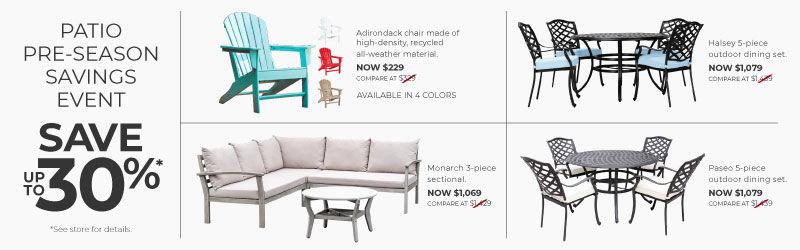 Patio Furniture At American Home, Patio Furniture Albuquerque
